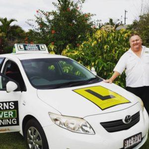 Rick Paukovits providing Cairns driving lessons